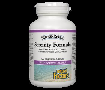 Natural Factors - Serenity Formula - 120 V-Caps
