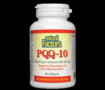 Natural Factors - PQQ-10 - 60 SG