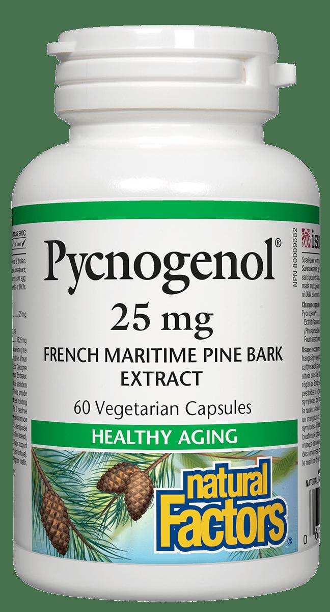 Natural Factors Natural Factors - Pycnogenol 25 mg - 60 Caps