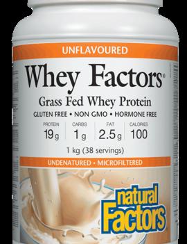 Natural Factors Natural Factors - Whey Factors - Unflavoured - 1kg
