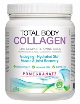 Natural Factors Total Body Collagen - Pomegranate - 500 gram