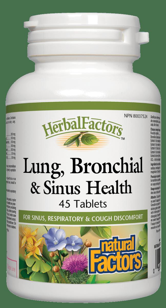 Natural Factors Natural Factors - Lung, Bronchial & Sinus Health - 45 Caps