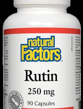 Natural Factors Natural Factors - Rutin 250 mg - 90 Caps