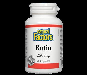 Natural Factors - Rutin 250 mg - 90 Caps