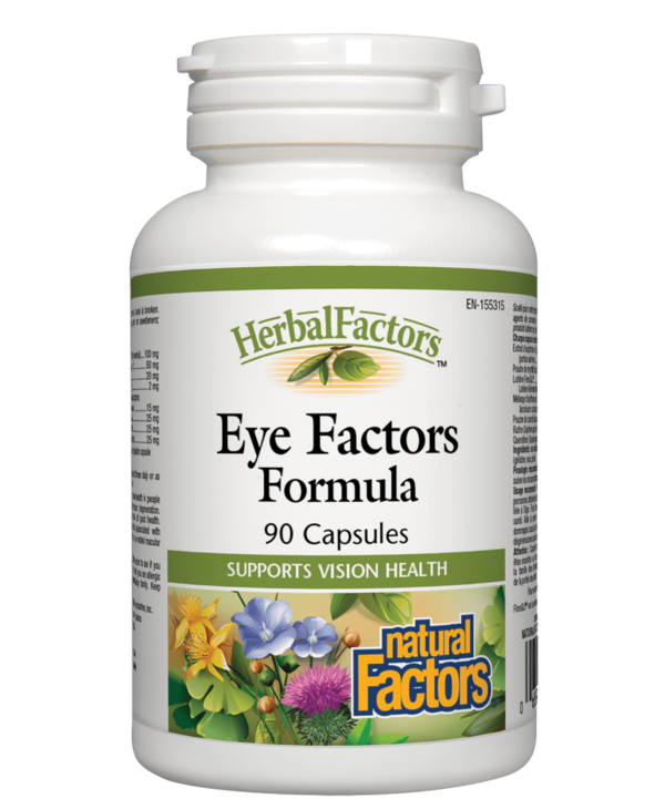 Natural Factors - Eye Factors Formula - 90 Caps