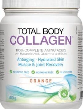 Natural Factors Total Body Collagen - Orange - 500 gram
