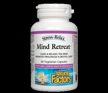 Natural Factors - Mind Retreat - 60 V-Caps