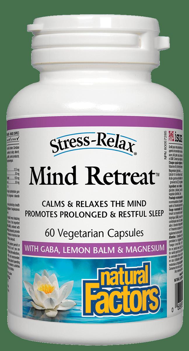 Natural Factors Natural Factors - Mind Retreat - 60 V-Caps