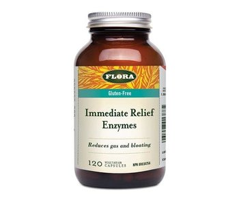 Flora - Immediate Relief Enzymes - 120 V-Caps