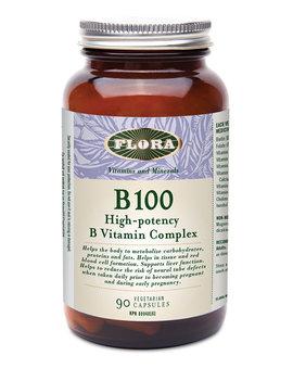 Flora Flora - B 100 High-Potency B Vitamin Complex