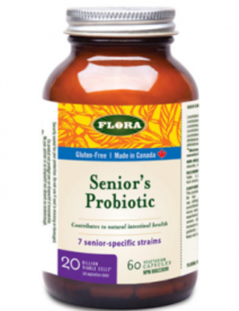 Flora Flora - Senior's Probiotic 20 billion - 60 V-Caps