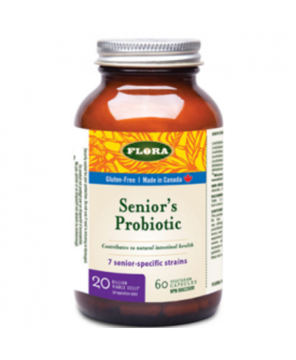 Flora - Senior's Probiotic 20 billion - 60 V-Caps