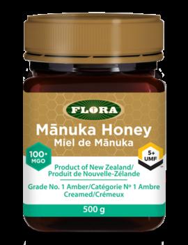 Flora Flora - Manuka Honey - 100+MGO/5+UMF - 500g