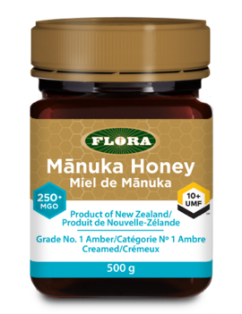 Flora Flora - Manuka Honey - 250+MGO/10+UMF  - 500g
