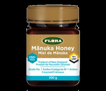 Flora - Manuka Honey - 250+MGO/10+UMF  - 500g