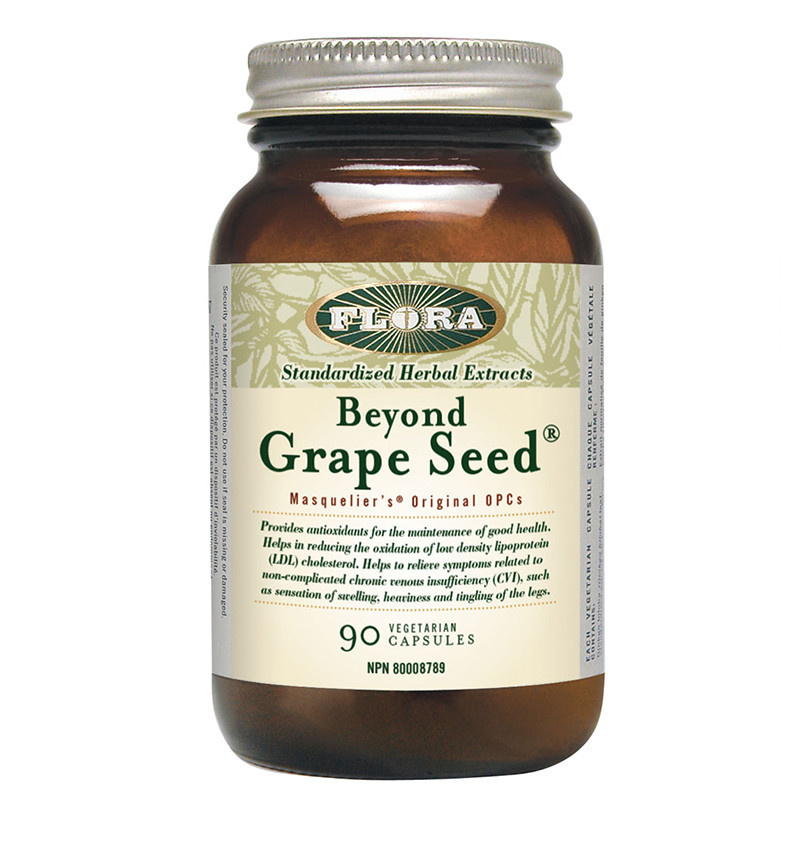 Flora Flora - Beyond Grape Seed - 90 Caps
