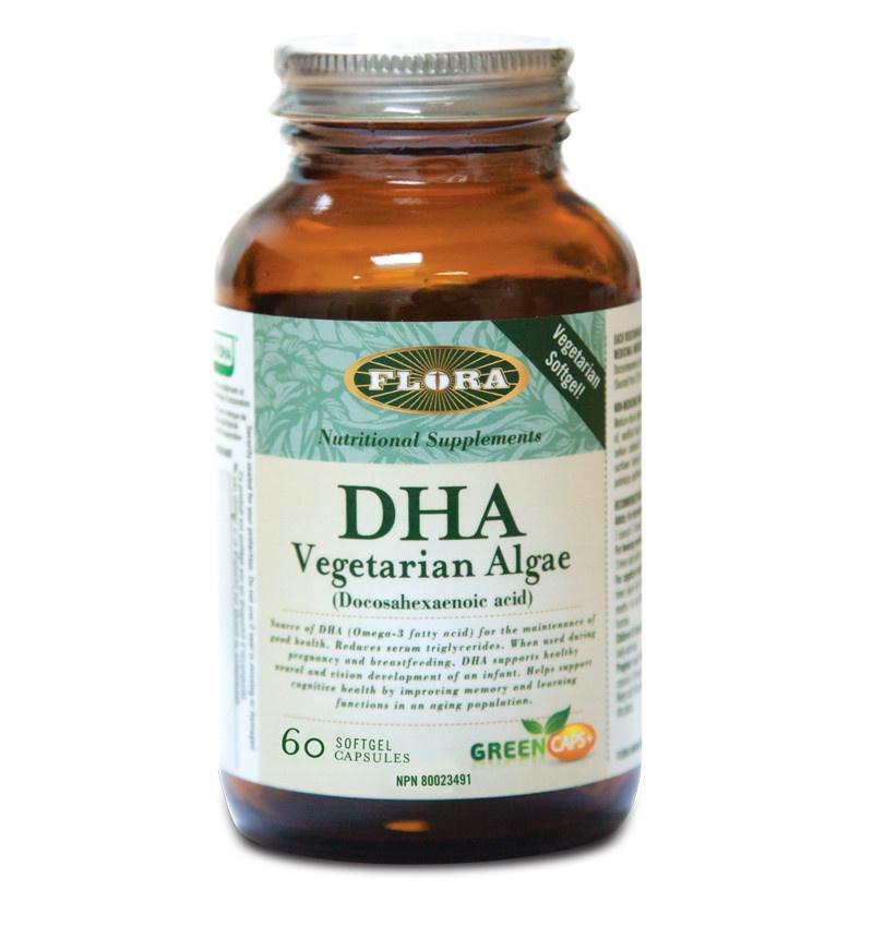 Flora Flora - DHA Vegetarian Algae -  60 SG