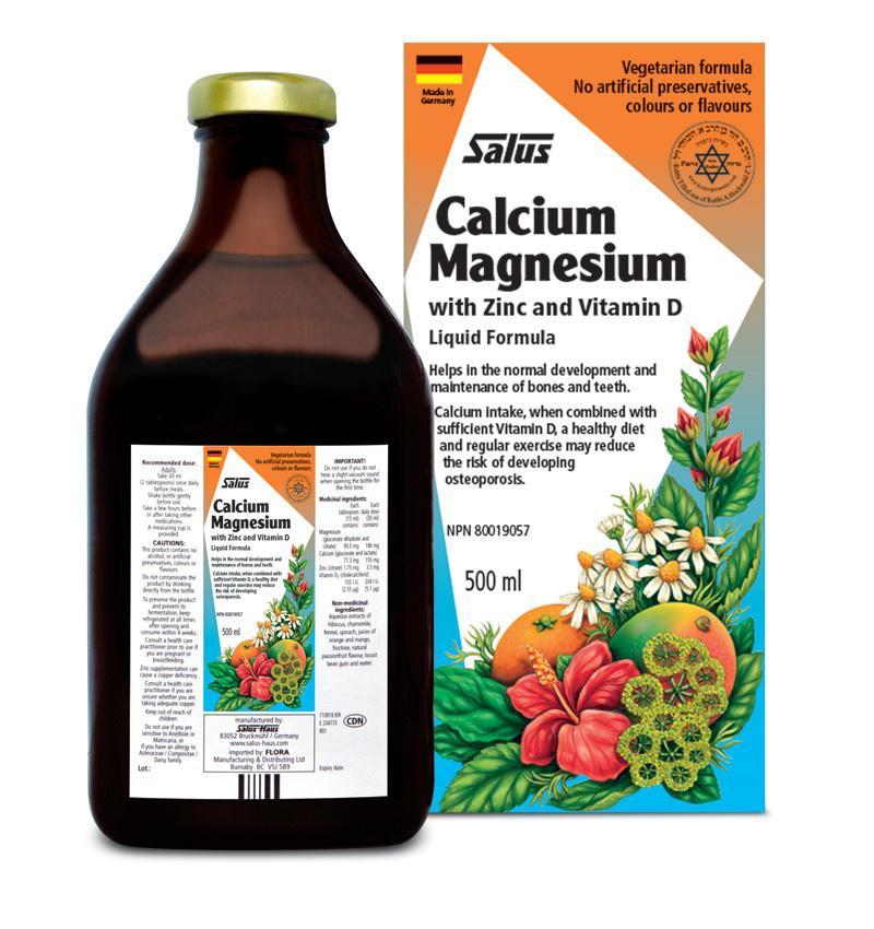 Salus Salus – Calcium Magnesium - 500ml