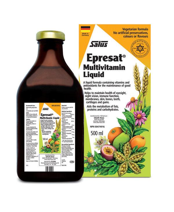 Salus - Epresat Herbal Multivitamin Liquid - 500ml