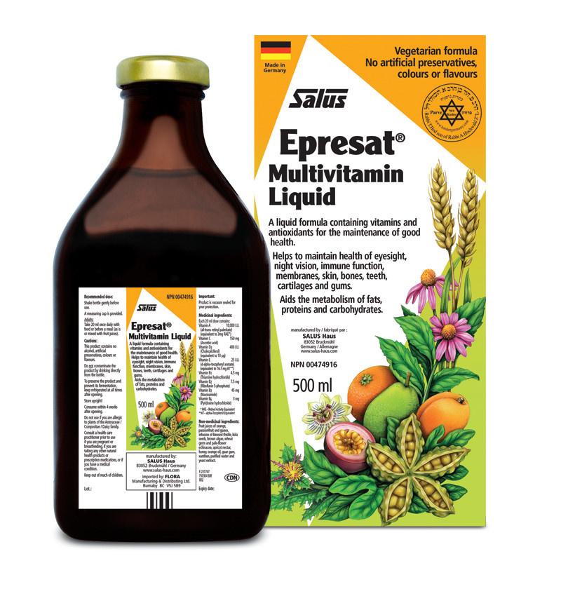 Salus Salus - Epresat Herbal Multivitamin Liquid - 500ml