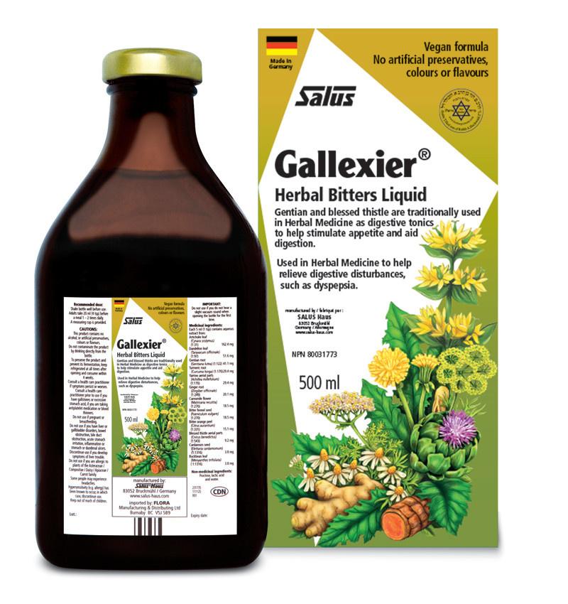 Salus Salus - Gallexier Herbal Bitters - 500ml