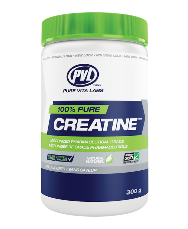 PVL - 100% Pure Creatine - Unflavoured - 300g