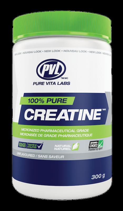 PVL - Pure Vita Labs PVL - 100% Pure Creatine - Unflavoured - 300g