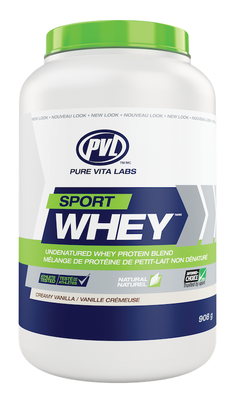 PVL - Pure Vita Labs PVL - Sport Whey - Creamy Vanilla - 908g