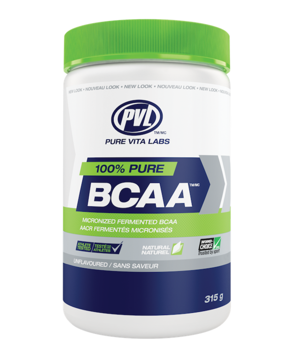 PVL - 100% Pure BCAA - Unflavoured - 315g