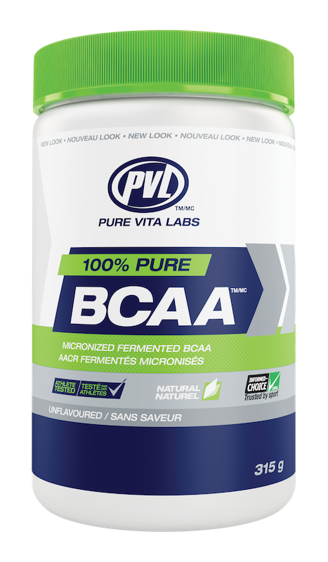 PVL - Pure Vita Labs PVL - 100% Pure BCAA - Unflavoured - 315g