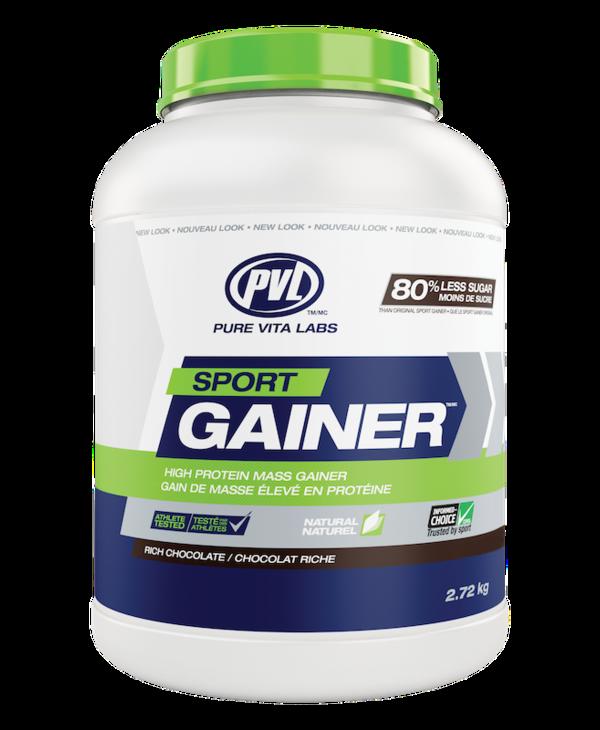 PVL - Sport Gainer - Rich Chocolate - 2.72 Kg