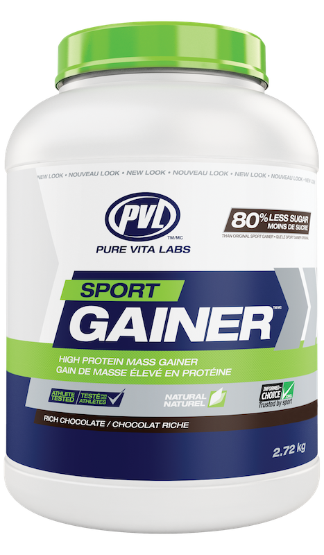 PVL - Pure Vita Labs PVL - Sport Gainer - Rich Chocolate - 2.72 Kg