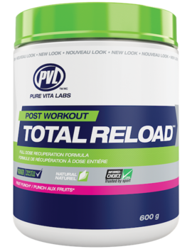 PVL - Pure Vita Labs PVL - Total Reload Powder - Fruit Punch - 600g