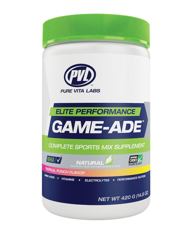 PVL - Pure Vita Labs PVL - Game-Ade - Tropical Punch - 420g