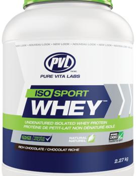 PVL - Pure Vita Labs PVL - ISO Sport Whey - Rich Chocolate - 2.7kg