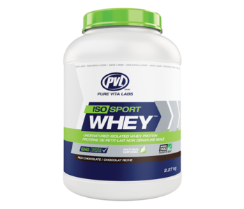 PVL - ISO Sport Whey - Rich Chocolate - 2.7kg