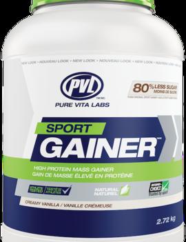 PVL - Pure Vita Labs PVL - Sport Gainer - Creamy Vanilla - 2.72 kg