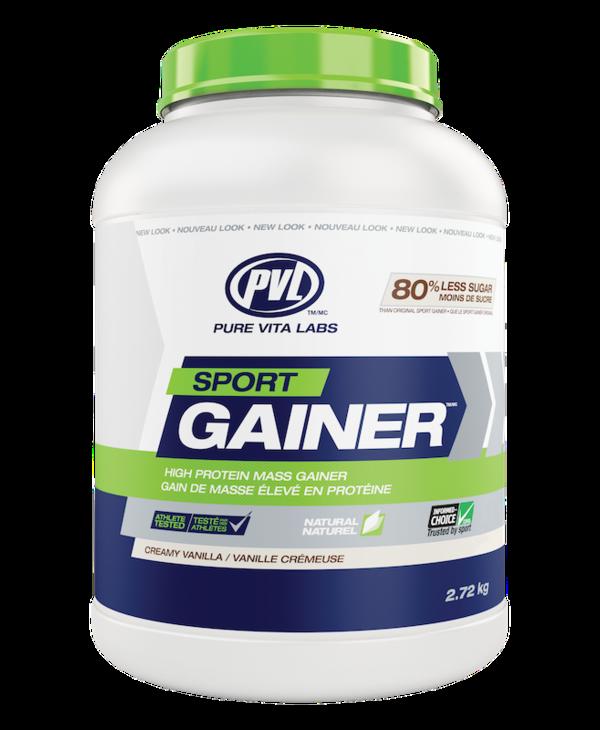 PVL - Sport Gainer - Creamy Vanilla - 2.72 kg