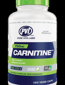 PVL - Pure Vita Labs PVL - Carnitine 750 mg - 120 V-Caps
