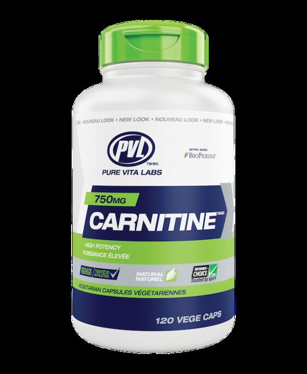 PVL - Carnitine 750 mg - 120 V-Caps