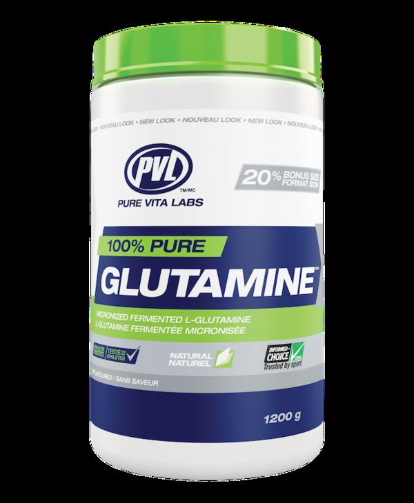 PVL - 100% Pure Glutamine - Unflavoured - 1200g
