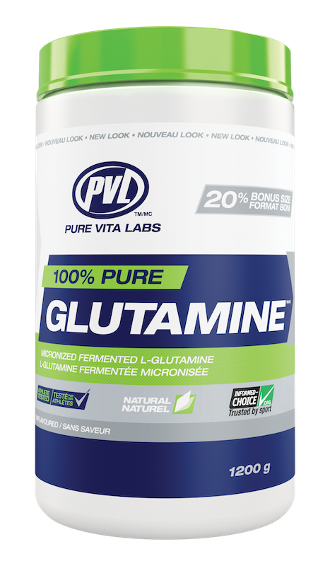 PVL - Pure Vita Labs PVL - 100% Pure Glutamine - Unflavoured - 1200g
