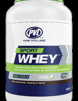PVL - Pure Vita Labs PVL - Sport Whey - Rich Chocolate - 908g
