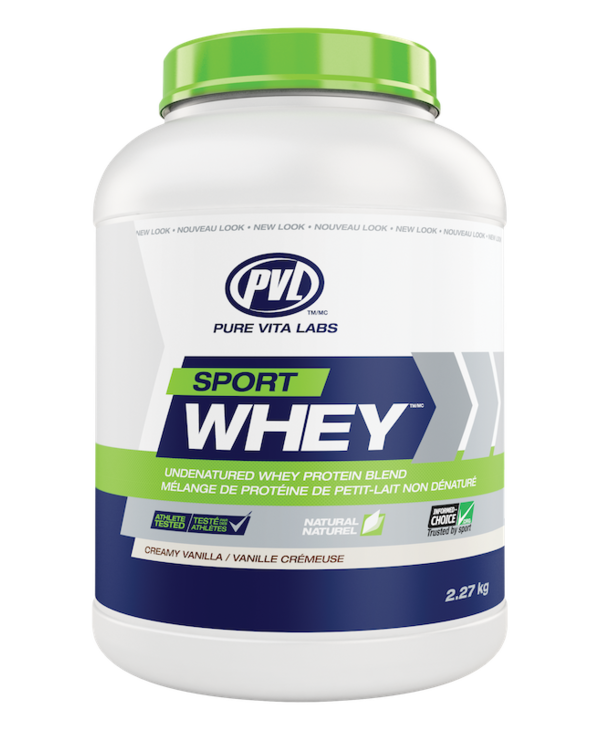 PVL - Sport Whey - Creamy Vanilla - 2.27kg