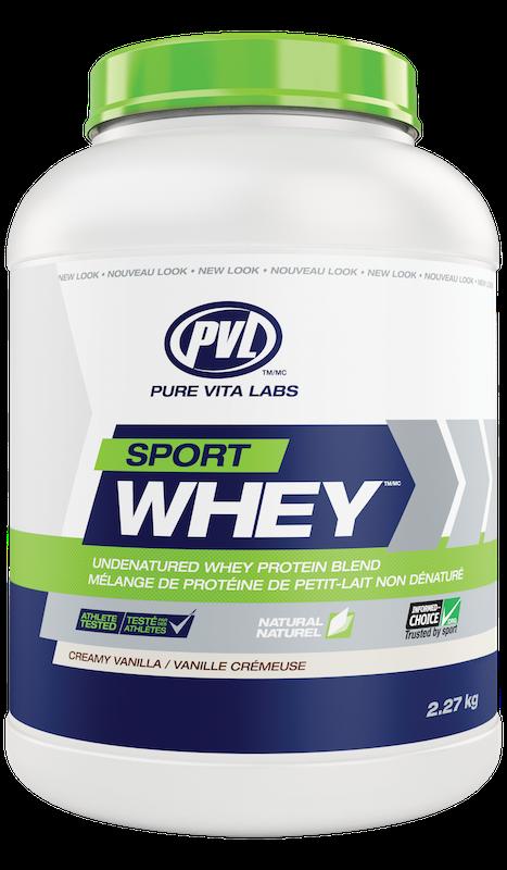PVL - Pure Vita Labs PVL - Sport Whey - Creamy Vanilla - 2.27kg