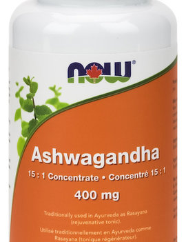 Now Now - Ashwagandha Ext 400mg - 90 V-Caps