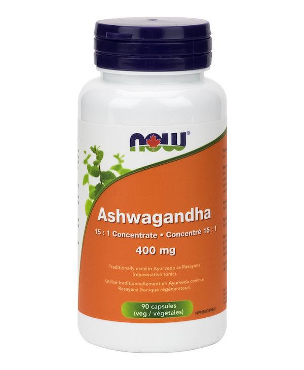 Now - Ashwagandha Ext 400mg - 90 V-Caps