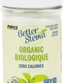 Now Now - BetterStevia - Powdered Sweetener - Organic - 28g Shaker