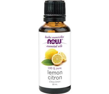 Now - Essential Oil - Lemon Oil - 30mL