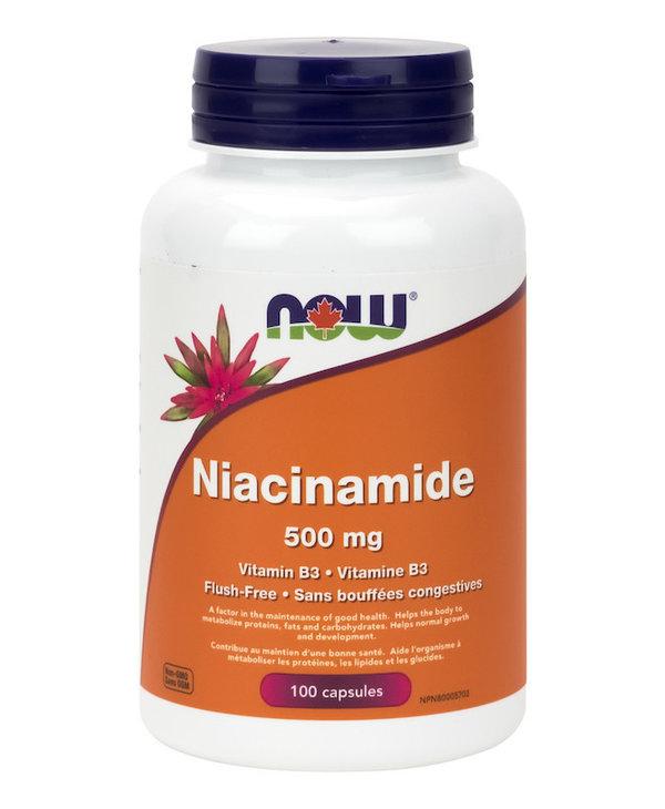 Now - Niacinamide 500 mg - 100 Caps